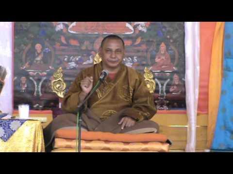 Геше Джампа Тинлей. Бодхичитта. Заречье 2011. Часть 12.