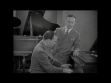 Nacio Herb Brown and Arthur Freed Perform One Of Their Big Hits