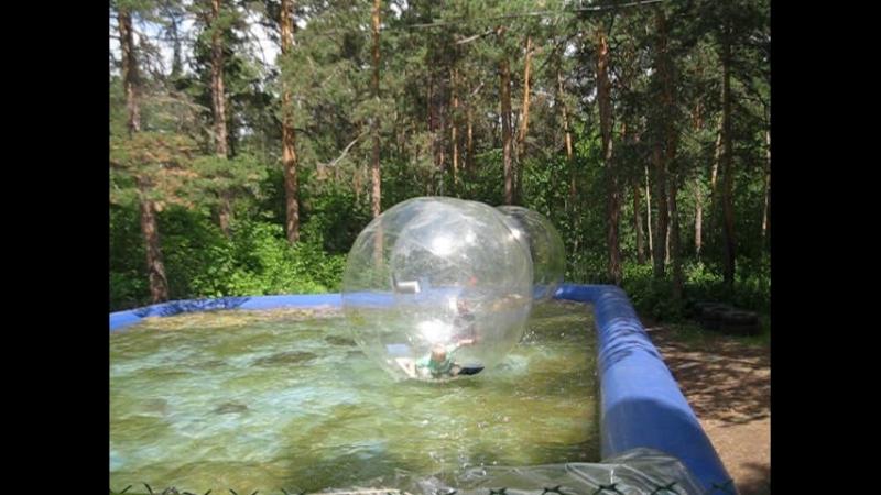 шары на воде