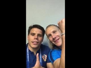 «Слава Украине!» от хорватов после победы над Россией