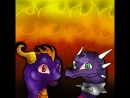 HELL TO YOUR DOORSTEP animatic Spyro vs Cynder