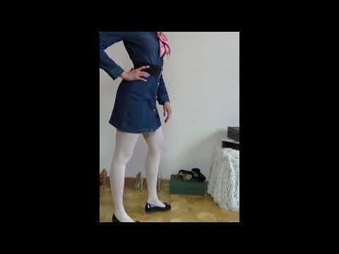 85 Legs in Nylon Pantyhose, Ноги в колготках из нейлона HD » Freewka.com - Смотреть онлайн в хорощем качестве