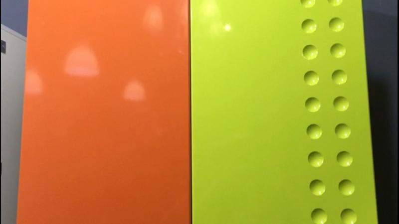 Оранжевый глянец, лайм глянец (3)