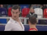 European Championships 2018. Ice Dance - SD. Laurence FOURNIER BEAUDRY ⁄ Nikolaj SORENSEN