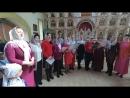 Христос Воскресе на грузинском языке. Дети воскресной школы читают стихи.