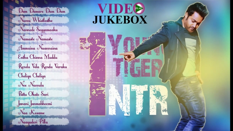 Jr NTR All Time Hits __ Best Collection __ Video Songs Jukebox