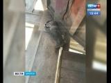 Рабочего базы засыпало цементом в Иркутске