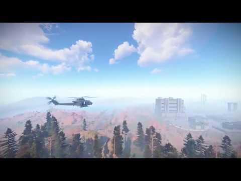 HeliRefuel Rust Plugin Preview