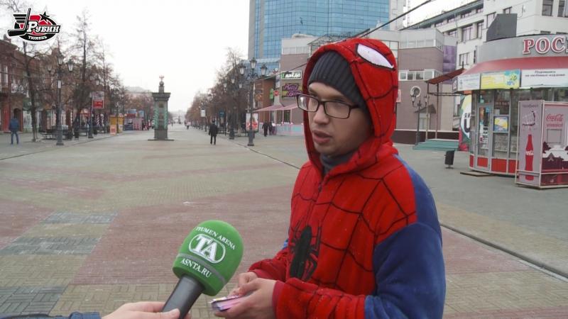 В день матча с Челметом Иван Лобов прогулялся по улицам Челябинска и выяснил насколько это хоккейный город