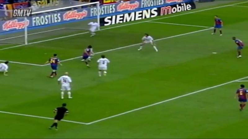 Реал Мадрид Барселона 4 2 Ла Лига 2004 05