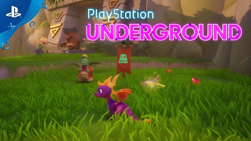 Spyro Reignited Trilogy - Spyro 2: Ripto's Rage PS4 Gameplay | PlayStation Underground