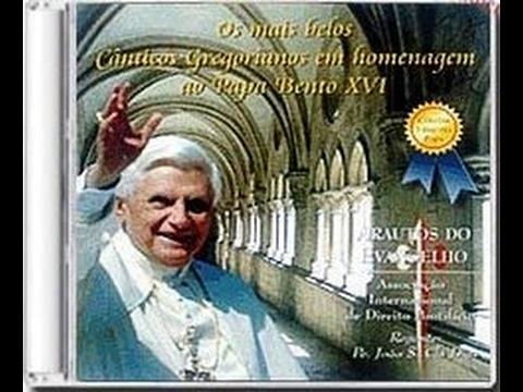 Os mais belos Cânticos Gregorianos em homenagem ao Papa Bento XVI - Arautos do Evangelho