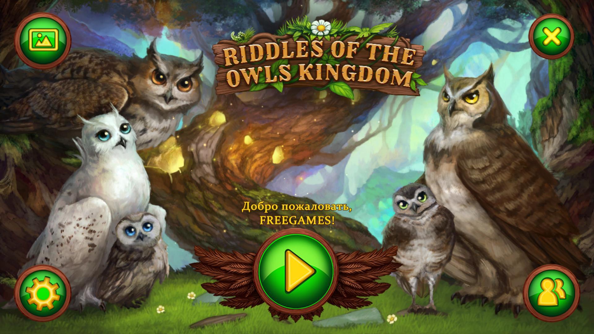 Загадки королевства сов | Riddles of the Owls Kingdom (Rus)