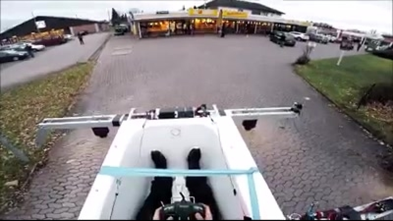 Dron - po domácku udělaný !
