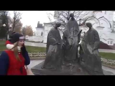 тысячелетний город Ярик / Ярославль город на Волге/ Обзорчик....Сделай вид , что ты задумалась