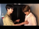 Doyoung accidentally touched jaehyun's nipple
