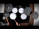ATV aDrums aD5 with drum-tec diabolo electronic drums Yamaha e-cymbals