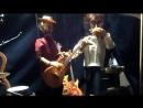 Гитара и губная гармошка