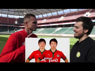 Russian football stars introduction to russia