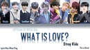 Stray Kids - What Is Love How would SK sing Twices WIL Color Coded Lyrics Han-Rom-Eng