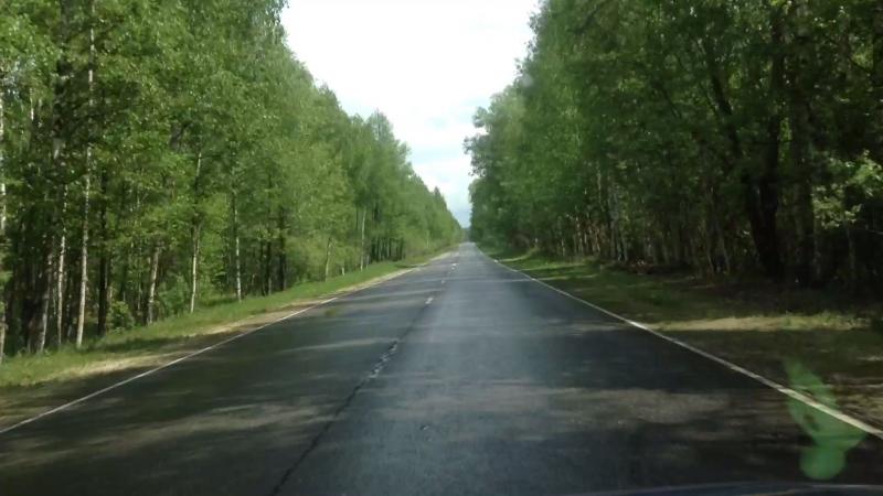 Едем в Лашму по Шиловской. 19 мая 2018г.