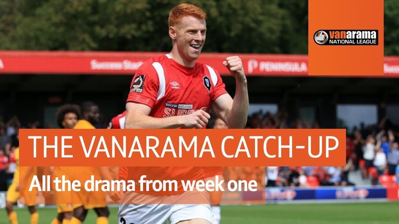 Can Salford City Start With A Win? The Vanarama National League Highlights Show