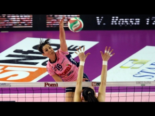 Top 10 Volleyball Spikes Valentina Tirozzi - Left-Handed - Womens Club World Championship 2016