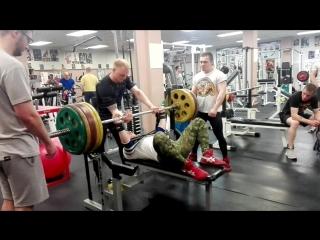 180 кг в слинге с/в 73кг