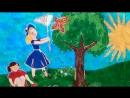 роспись на стене детской площадки