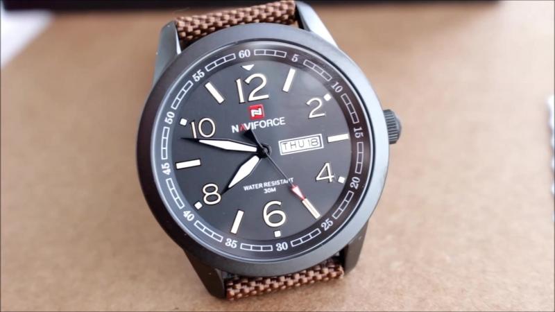 Стильные качественные мужские часы с оригинальным ремешком ⌚