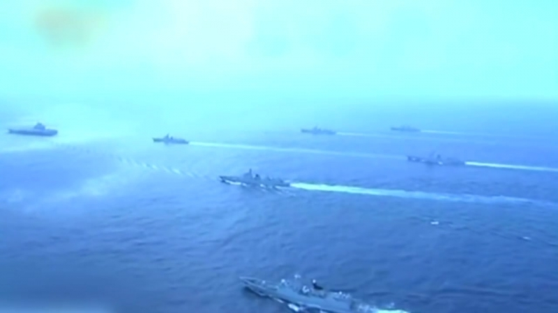 Marinemanöver im Pazifik So zeigt China seine militärische Stärke auf hoher See