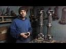 Виготовлення ребристої колони. Римський орнамент і листя аканта ручна робота.