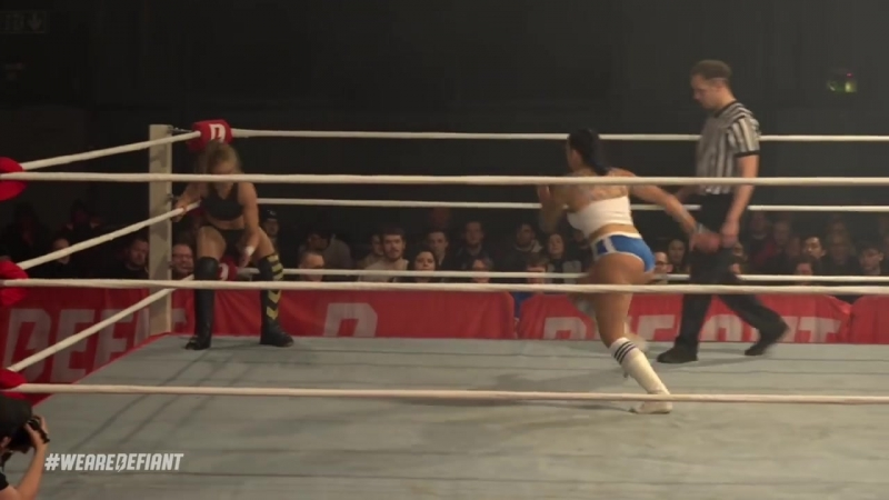 New Women's Champ Millie McKenzie Takes On Lana Austin Defiant Wrestling 10