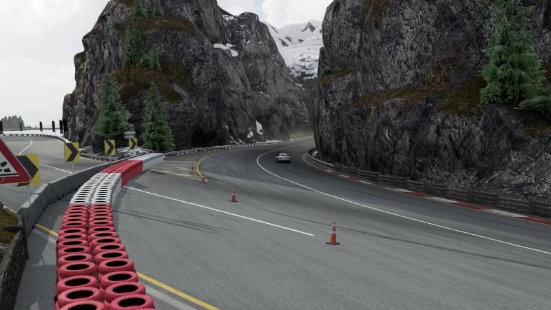 Forza Motorsport 7. Бернские Альпы . Maserati GranTurismo S.