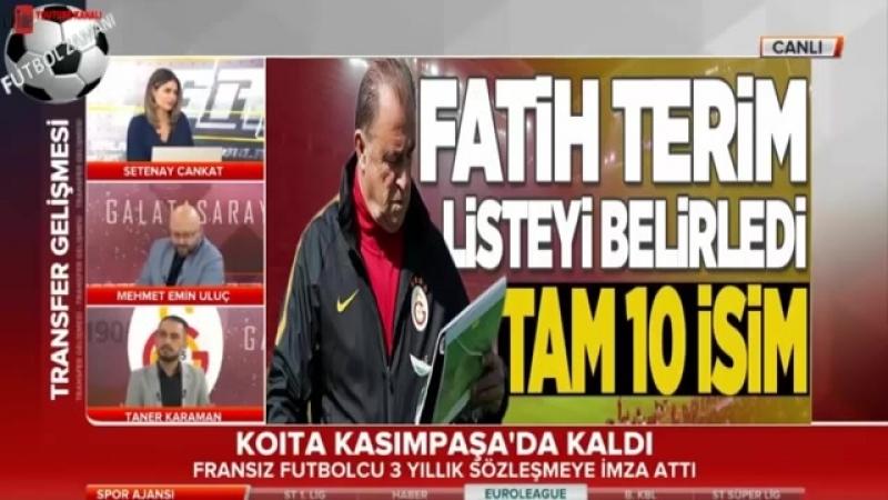 Galatasaraydan Ayrılaçaklar ve Transfer Yorumları 18 Mayıs 2018