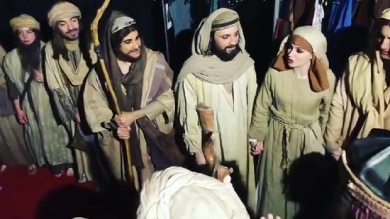 Jesus le Spetacle avant la derniere