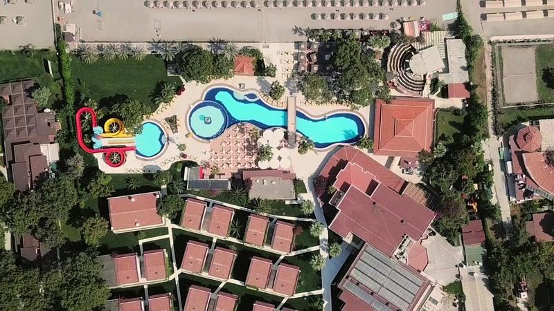 Отель Club Boran Mare Beach HV 1 Кемер Гёйнюк Рекламный тур География