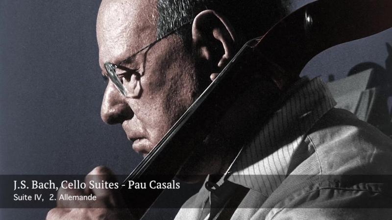 J.S. Bach - The six cello suites - Pau Casals, 1936⁄39