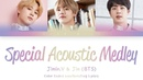 Jimin, V, Jin (BTS (防彈少年團)) - Special Acoustic Medley (Color Coded Lyrics/Eng/Rom/Kan)