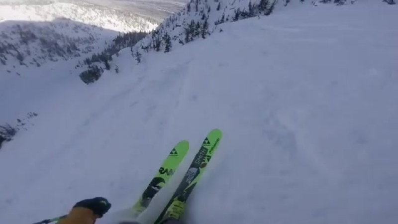 Start gate to finish gate! Take a look at my 5th place run at the by freerideworldtour
