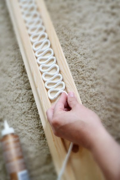 Как сделать верёвочный абажур.