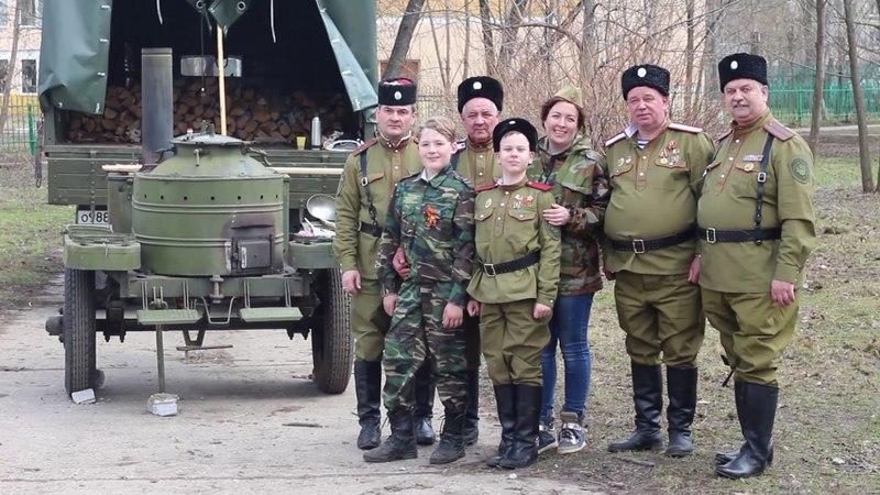Игорь Анатольевич Комолов о полевой кухне на субботнике