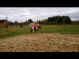 Катание на пони Яна