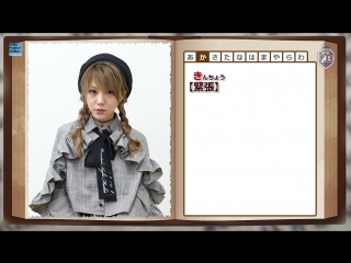 Tanaka Reina - Memories Dictionary Relay Morning Musume 20th Anniversary Project (H!S #271)