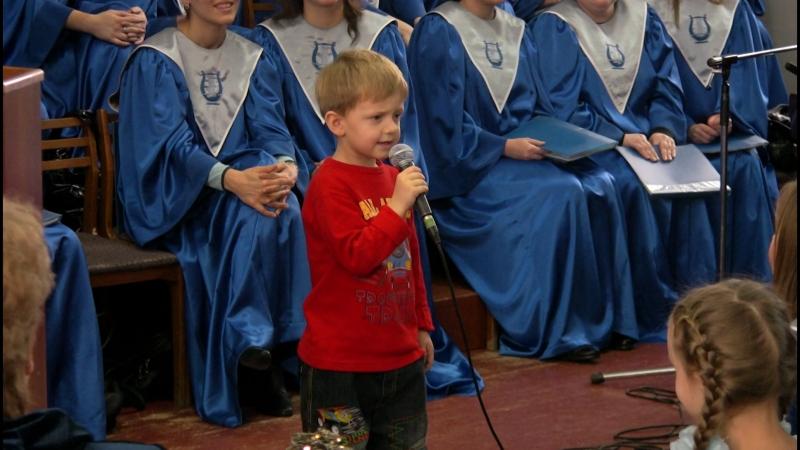 Рождество 2011. Тимофей Стельмашок.Овечки коровки