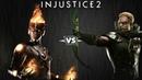 Injustice 2 - Файршторм против Зелёной Стрелы - Intros Clashes rus