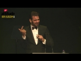 2017 Nyle DiMarco accepts Attitude's Man of the Year Award 1910