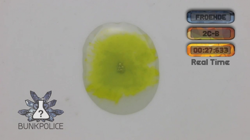 2C-B - Froehde Reagent - Normal Test Kit - Bunk Police