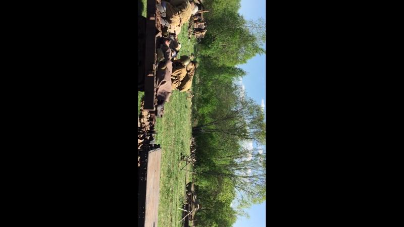 Тёсово-Нетыльский, Фестиваль Забытый подвиг, Вторая ударная армия. Реконструкция событий. май 2018 года.