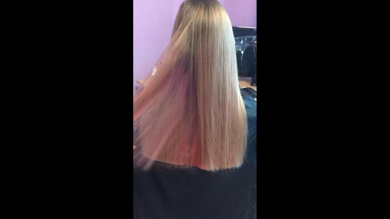 Тихонова Полировка волос и подравнивание